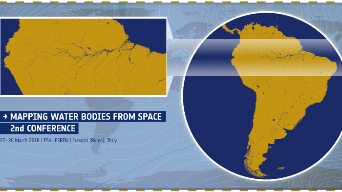 Mapping Water Bodies From Space 2nd Conference