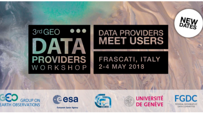 3rd GEO Data Providers Workshop